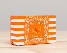 Meyve Serisi Dikdörgen Mandalina Aromalı Katı Sabun 100gr