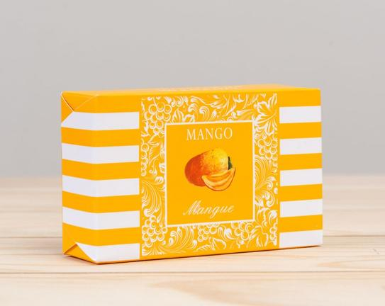 Katı Sabun - Kare 100 g Mango (Mango)