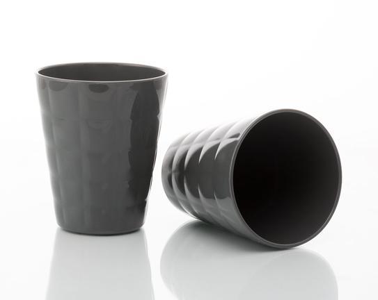 2'li Su Bardağı - Antrasit