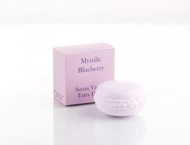 Katı Sabun - Macaron 50 g Myrtille (Yaban Mersini)