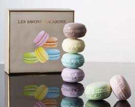 6lı Macaron Sabun Seti Lila 50gr