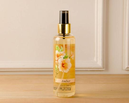 Çiçek Serisi Amber Vücut Spreyi 200ml
