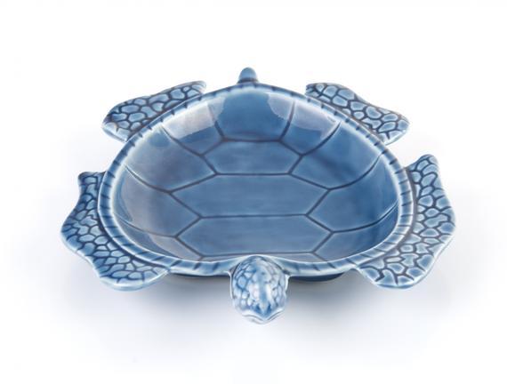 Porselen Kaplumbağa Tabak