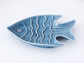 Porselen Tabak Balık