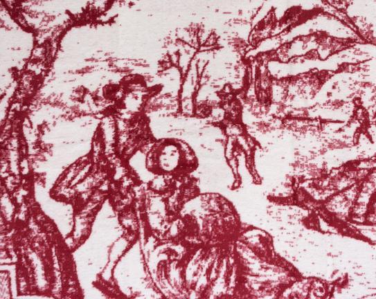 Prive Çift Kişilik Pamuklu Battaniye Kırmızı