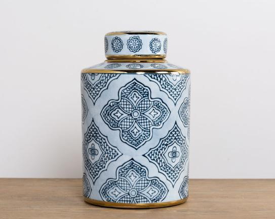 Dekoratif Porselen Vazo 23x12cm