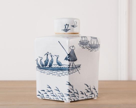 Dekoratif Porselen Vazo 18cm