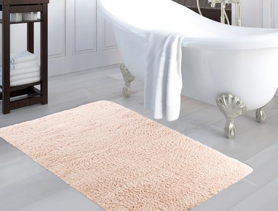 Banyo Halısı 100x150cm - Pudra