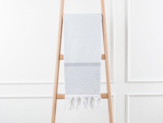 Rayure Spacieux Peştenak 90x170cm Gri/Antrasit