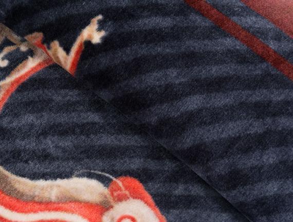 Çift Kişilik Baskılı Battaniye 200x240 Cm
