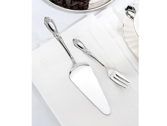 Annabel 6'lı Tatlı Çatal Ve Pasta Kürek Seti