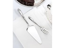 Jardin 6'lı Tatlı Çatalı ve Pasta Kürek Seti