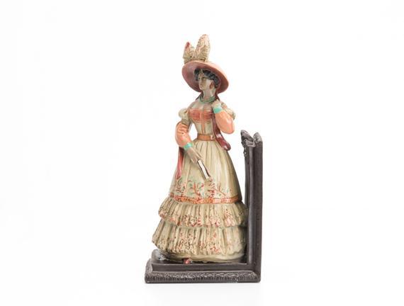 Lady Figürlü Kitap Desteği