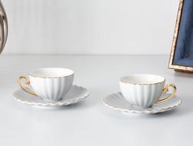 Shelley 2'Li Kahve Fincanı Seti