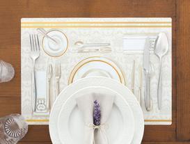 Dinner Time 4'lü Amerikan Servis