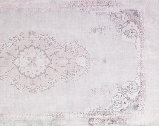 Aubusson Cottage Dijital Baskılı Şönil Halı - 120x180 cm