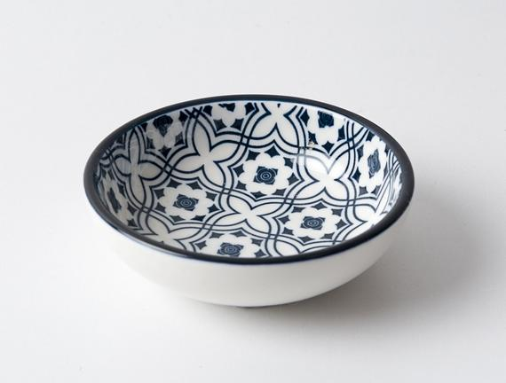 New Bone China Yuvarlak Tabak