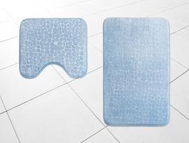 Banyo Paspas Takımı - İndigo