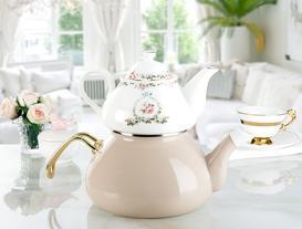 Florale Verte Çaydanlık
