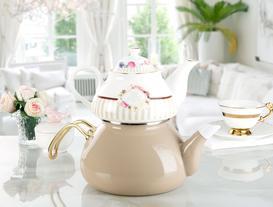 Florale Rose Çaydanlık