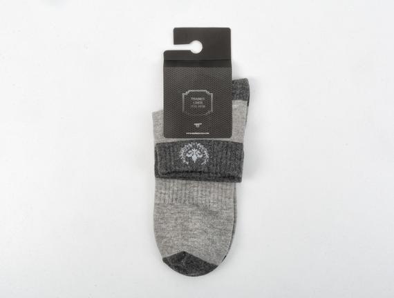 Erkek Spor Çorap - Gri