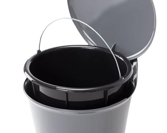 Pedallı Çöp Kovası - Antrasit