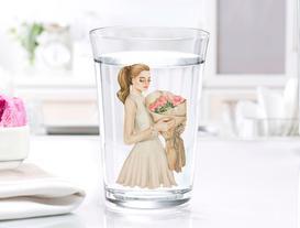 Coretta 3'lü Su Bardağı