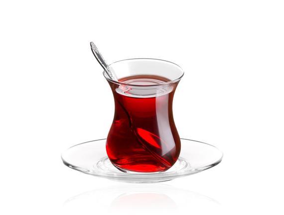 Thierry 6'lı Çay Tabağı Seti