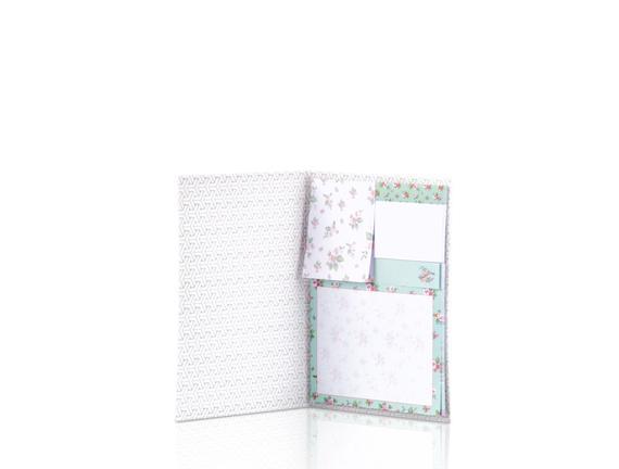 3'lü Yapışkan Not Defteri - Yeşil