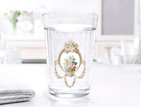 Rosa 3'lü Su Bardağı