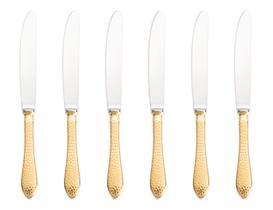 Dor Noktalı 6'lı  Yemek Bıçağı