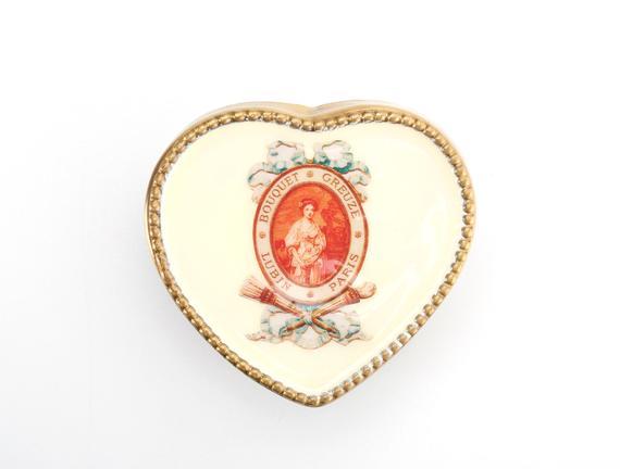 Dekoratif Kalp Kutu