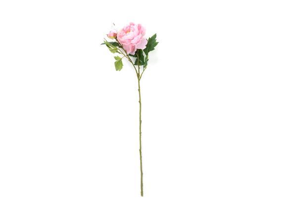 Dekoratif Yapay Çiçek - Açık Pembe Şakayık