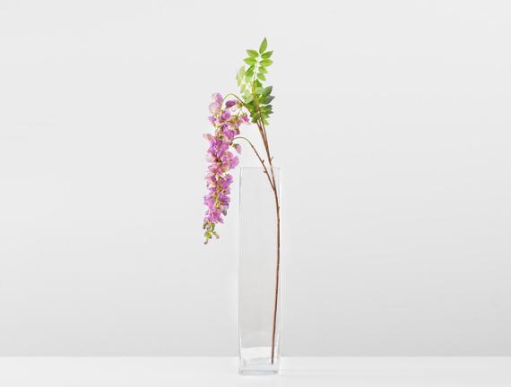 Dekoratif Yapay Çiçek - Lila Salkım