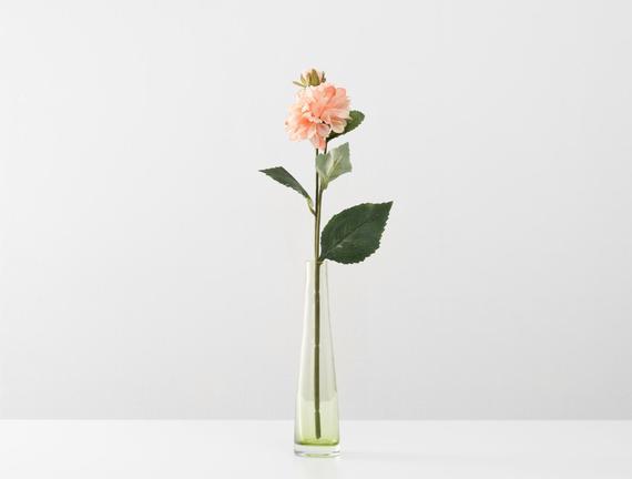 Dekoratif Yapay Çiçek - Pudra Yıldız Çiçeği