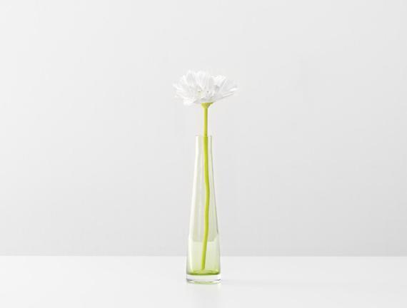 Dekoratif Yapay Çiçek - Beyaz Gerbera