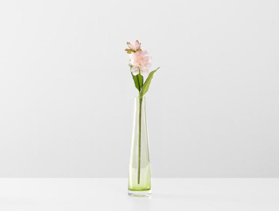 Dekoratif Yapay Çiçek - Açık Pembe Yıldız Çiçeği