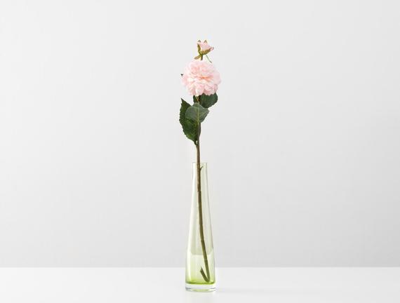 Dekoratif Yapay Çiçek - Uçuk Pembe Yıldız Çiçeği
