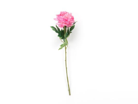 Dekoratif Yapay Çiçek - Pembe Şakayık