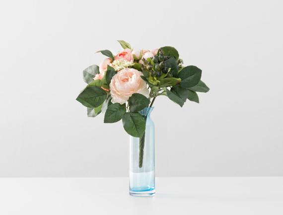 Dekoratif Yapay Çiçek - Şakayık Buketi