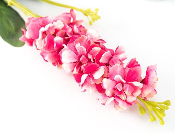 Dekoratif Yapay Çiçek - Pembe Hezaren