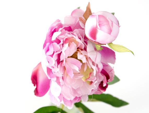 Dekoratif Yapay Çiçek - Mürdüm Şakayık