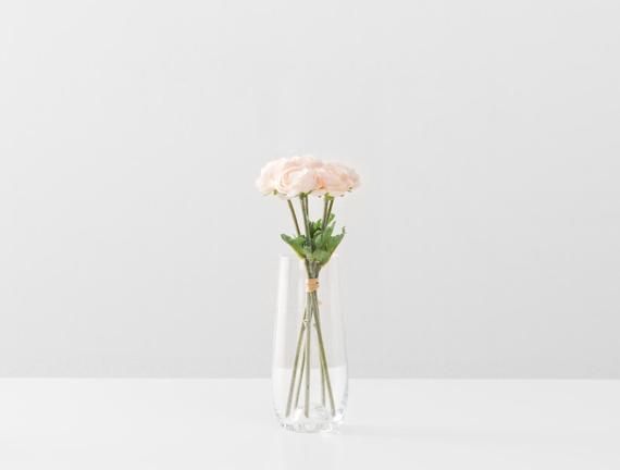Dekoratif Yapay Çiçek Düğün Çiçeği 20cm
