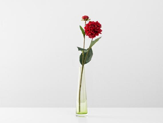 Dekoratif Yapay Çiçek - Kırmızı Yıldız Çiçeği