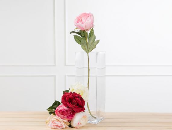 Dekoratif Yapay Çiçek - Şakayık