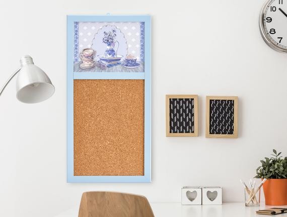 Duvar Panosu - Açık Mavi
