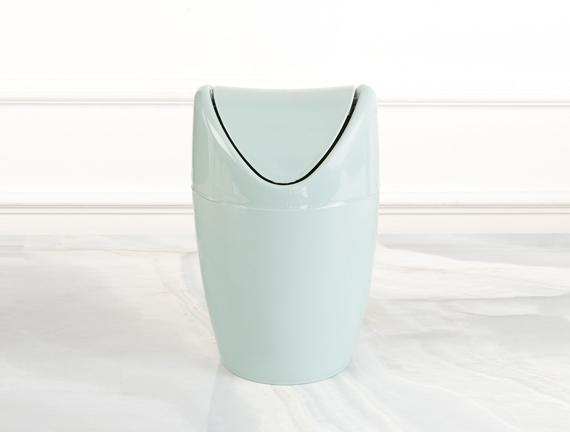 Set Üstü Çöp Kutusu - Yeşil