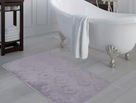 Quilt Banyo Halısı - Mürdüm