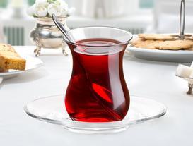 Roselin 6'lı  Çay Tabağı