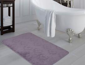 Quilt Banyo Halısı - Koyu Mürdüm